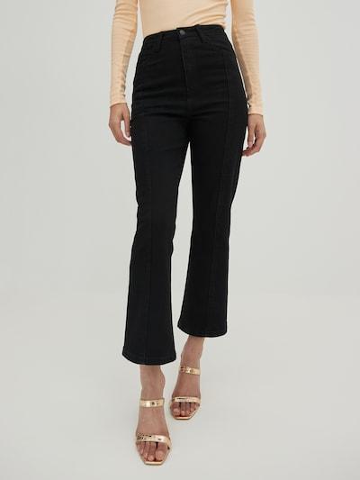 Jeans 'Elaina' EDITED pe negru, Vizualizare model