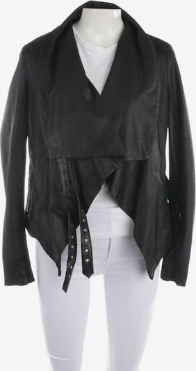 MUUBAA Lederjacke in L in schwarz, Produktansicht