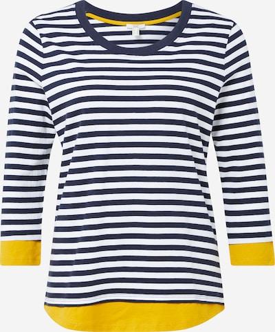 EDC BY ESPRIT Tričko - námornícka modrá / žltá / biela, Produkt