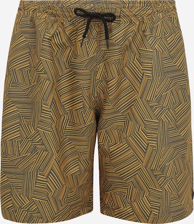 s.Oliver Zwemshorts in de kleur Geel / Grijs, Productweergave