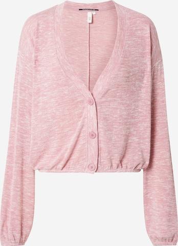 Q/S by s.Oliver - Cárdigan en rosa