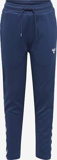 Hummel Broek 'Kick' in de kleur Navy / Wit, Productweergave