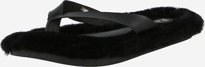 Flip-flops 'FERN' Raid pe negru, Vizualizare produs