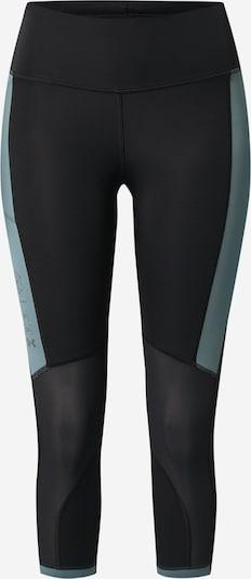 UNDER ARMOUR Sportbroek 'UA Run Anywhere' in de kleur Pastelblauw / Zwart, Productweergave