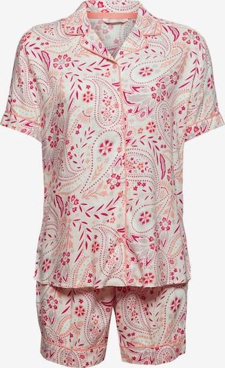 ESPRIT Pyjama in pink, Produktansicht