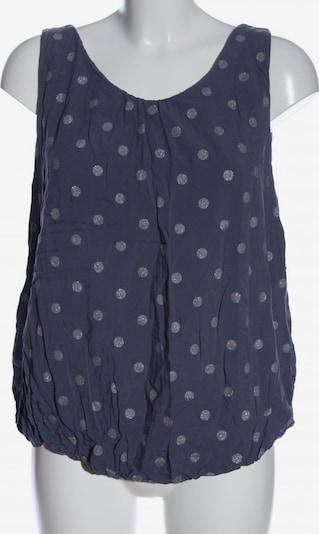 AUST ärmellose Bluse in L in blau / silber, Produktansicht