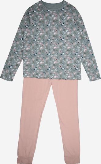 NAME IT Nachtkledij in de kleur Pastelblauw / Rosa, Productweergave