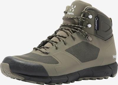 Haglöfs Boots 'L.I.M Mid Proof Eco' in de kleur Olijfgroen, Productweergave