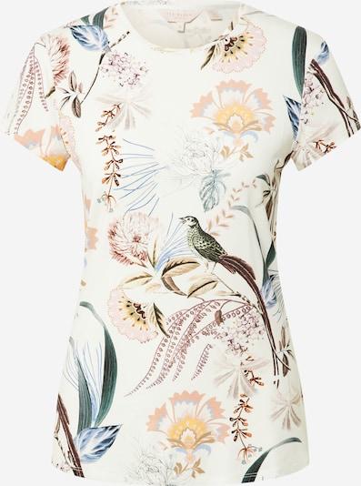 Ted Baker Shirt 'Jerikko' in de kleur Beige / Blauw / Geel / Grasgroen / Wit, Productweergave