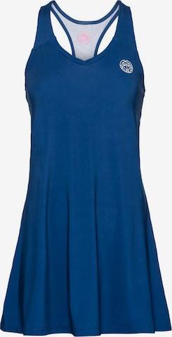BIDI BADU Kleid mit kontrastfarbenen Streifen in Blau