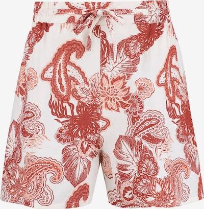 Shiwi Pants 'ARIZONA' in Pink / Dark red / White, Item view