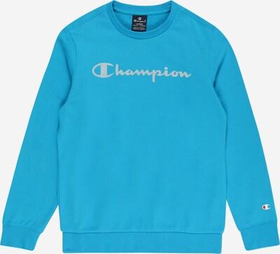Champion Authentic Athletic Apparel Sweat en bleu ciel / rouge feu / argent / blanc, Vue avec produit