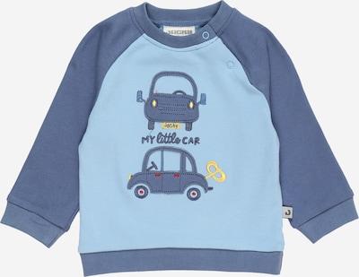 JACKY Mikina 'HAPPY CAR FRIENDS' - kouřově modrá / chladná modrá / žlutá / ohnivá červená, Produkt