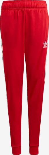 ADIDAS ORIGINALS Trainingshose 'Adicolor SST' in rot / weiß, Produktansicht