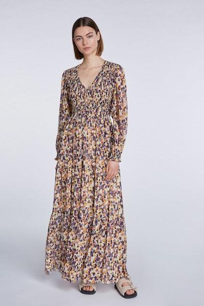 SET Kleid in hellgelb / flieder / dunkellila / orange / weiß, Modelansicht