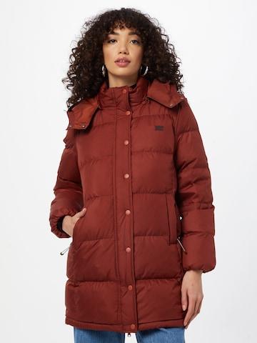 LEVI'S Winter Coat 'QUINN' in Red