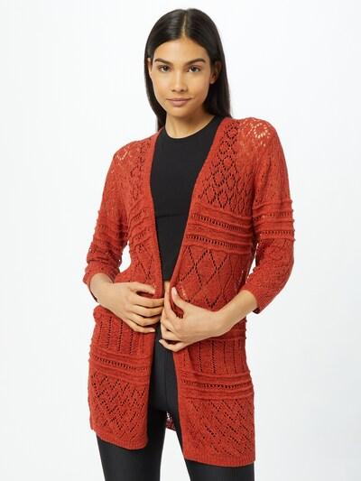 JDY Strickjacke 'KOBE' in rot, Modelansicht