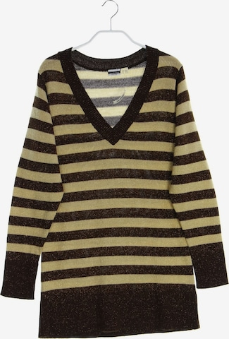 Basic Line Sweater & Cardigan in S-M in Beige
