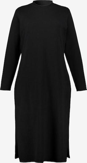 Ulla Popken Strickkleid in schwarz, Produktansicht