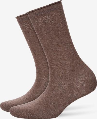 BURLINGTON Chaussettes en marron, Vue avec produit