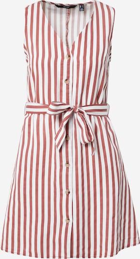 VERO MODA Kleid in pastellrot / weiß, Produktansicht