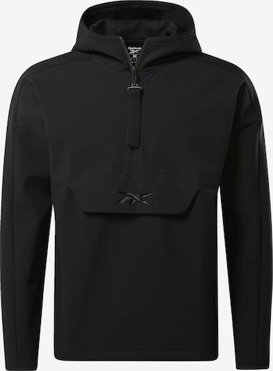REEBOK Sportjacke in schwarz, Produktansicht