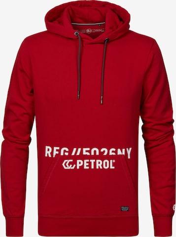 Petrol Industries Kapuzenpullover in Rot