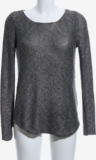 COTTON Club Strickshirt in S in schwarz / silber, Produktansicht