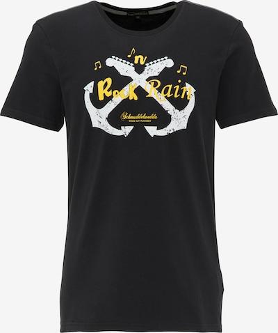 Schmuddelwedda T-Shirt in schwarz, Produktansicht