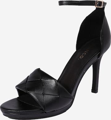 Bianco - Zapatos con plataforma en negro