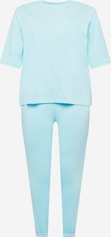 Missguided Plus Облекло за бягане в синьо