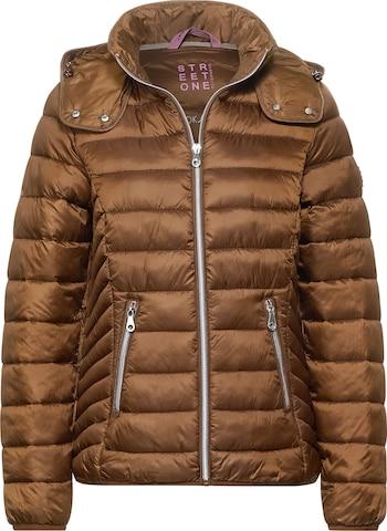 STREET ONE Outdoor Jacket in Brown