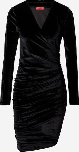 HUGO Jurk 'Nelvety' in de kleur Zwart, Productweergave
