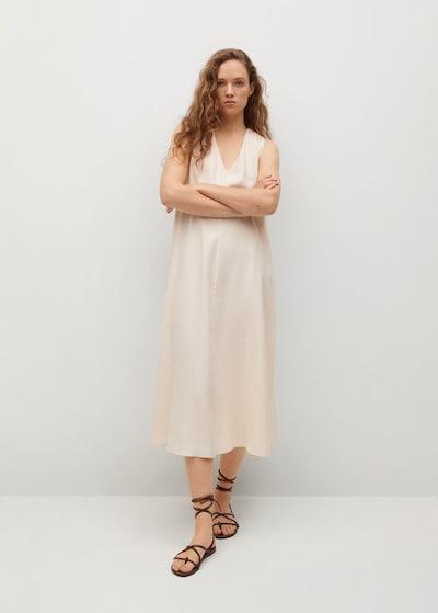 MANGO Kleid 'Hipolita' in nude, Modelansicht
