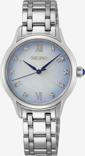 SEIKO Uhr in blau / silber, Produktansicht