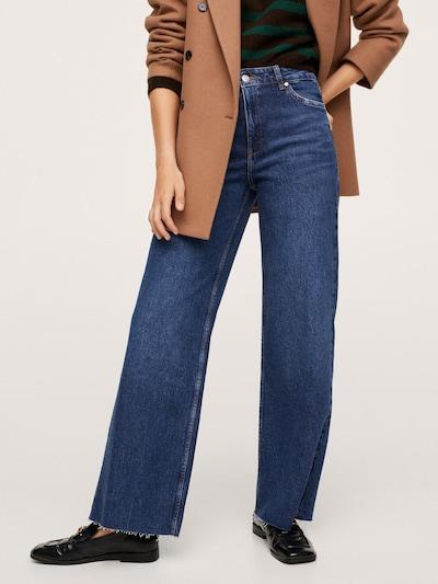 MANGO Jeans 'Casilda' in Blue denim, View model