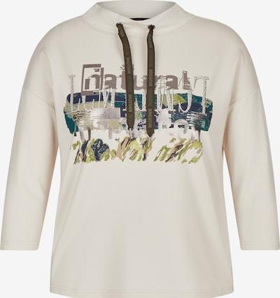 Lecomte Sweatshirt in creme / blau / braun, Produktansicht