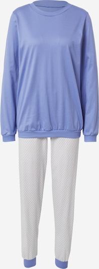 CALIDA Pyjama in rauchblau / orange / weiß, Produktansicht