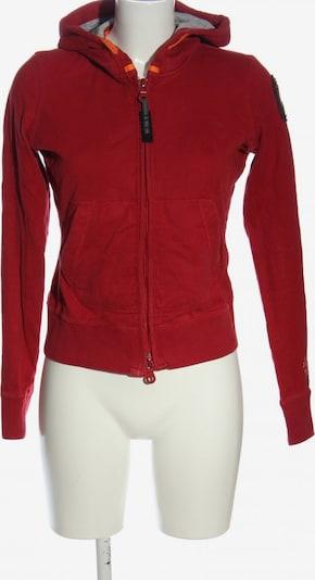 Parajumpers Kapuzensweatshirt in S in rot, Produktansicht