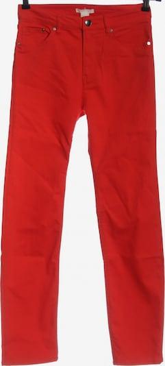 H&M Röhrenjeans in 27-28 in rot, Produktansicht