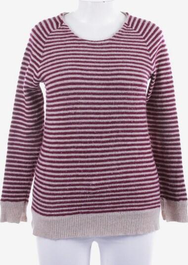 0039 Italy Pullover / Strickjacke in M in dunkelrot, Produktansicht