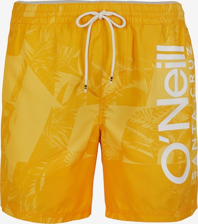 Șorturi de baie O'NEILL pe galben / alb, Vizualizare produs