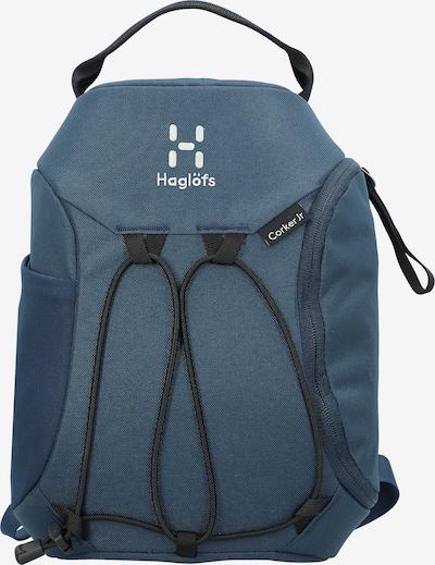 Haglöfs Rugzak 'Corker' in de kleur Smoky blue / Wit, Productweergave