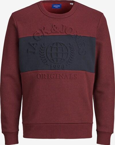 Jack & Jones Junior Sweatshirt 'Jorpoet' in bordeaux, Produktansicht