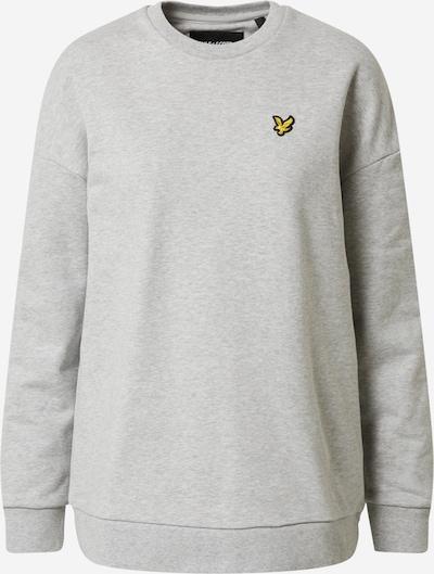 Lyle & Scott Sweatshirt in hellgrau / graumeliert, Produktansicht