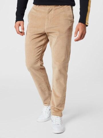 Pantalon chino 'REPTON' SELECTED HOMME en beige