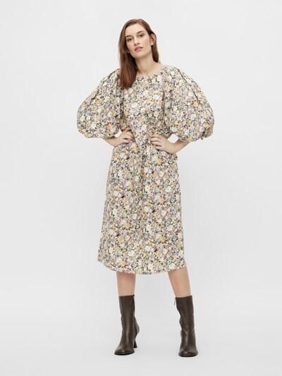 OBJECT Kleid 'Jasia' in sand / honig / mint / orchidee / schwarz, Modelansicht