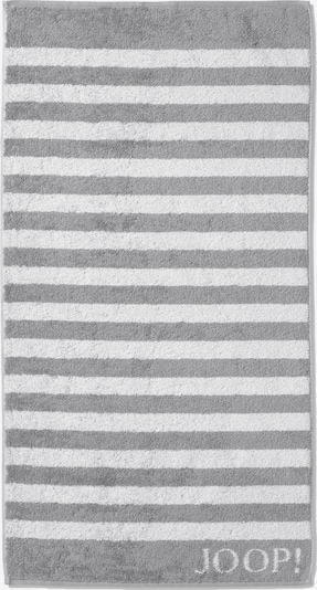 JOOP! Handtuch in grau / weiß, Produktansicht