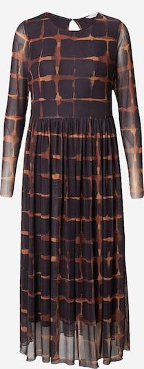 NÜMPH Sukienka 'FREJA' w kolorze brązowy / czarnym, Podgląd produktu