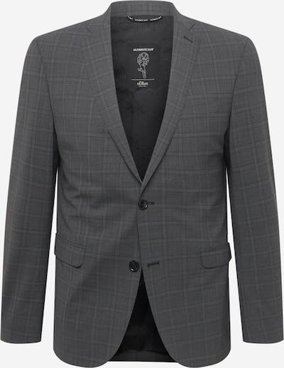 s.Oliver BLACK LABEL Ανδρικό σακάκι σε γκρι / σκούρο γκρι, Άποψη προϊόντος